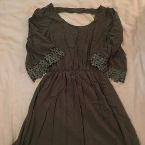 Sexy & Cute Olive Mini Dress